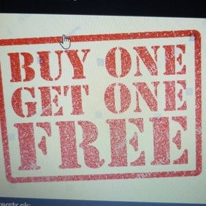 Other - Buy one get one free on all purchases